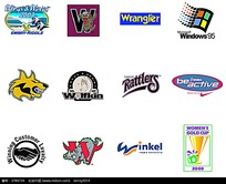 运动品牌图标设计