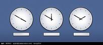 不同时间的时钟高清图