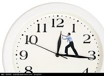 调整时钟的商务人ppt商务活动图片