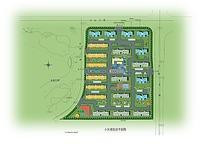 度假酒店商业居民区规划图