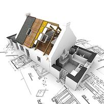 房屋建设图纸立体模型