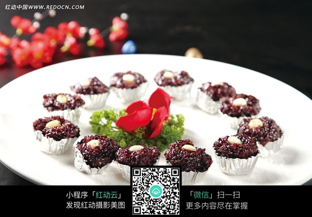 田螺黑图片文案_中华美食枣糕美食蜂蜜图片图片