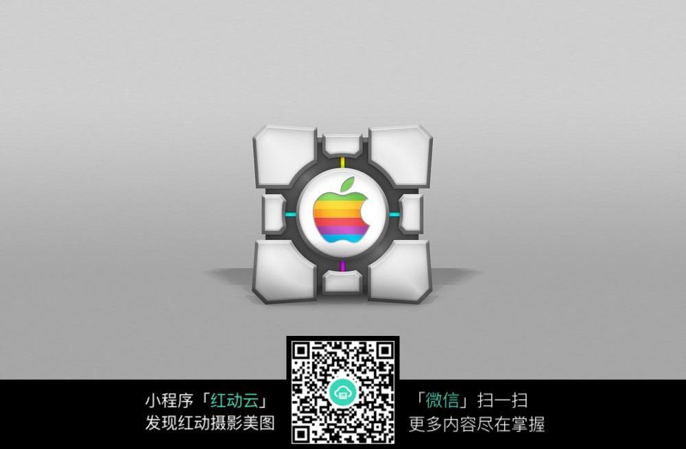 高清苹果logo桌面图片图片