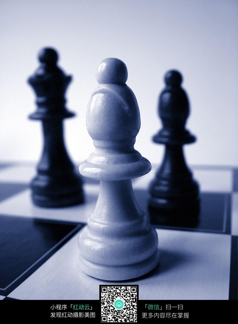 国际象棋棋子高清图片