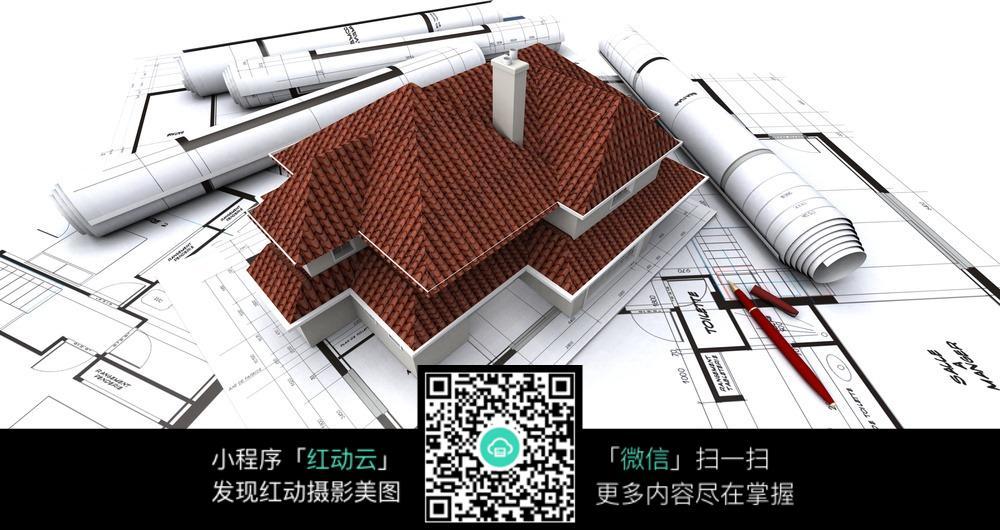 建筑图纸立体模型图