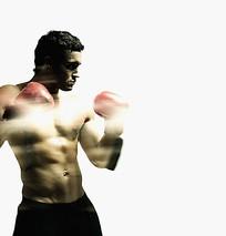 拳击人物图片