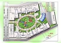 住宅花园居民区规划图