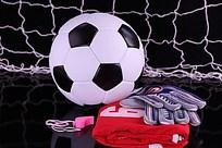 足球口哨手套网高清图