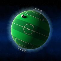 足球球场图片