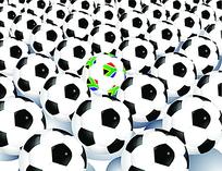 足球效果图