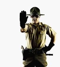 电影中男警察图片素材