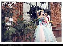 婚纱照排版图片