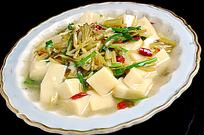 浆水菜烩搅团