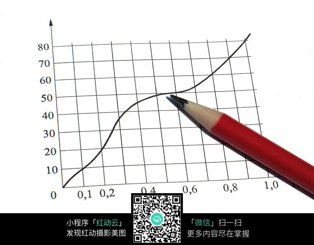 铅笔手绘报表商务素材图片免费下载(编号3826434)_红