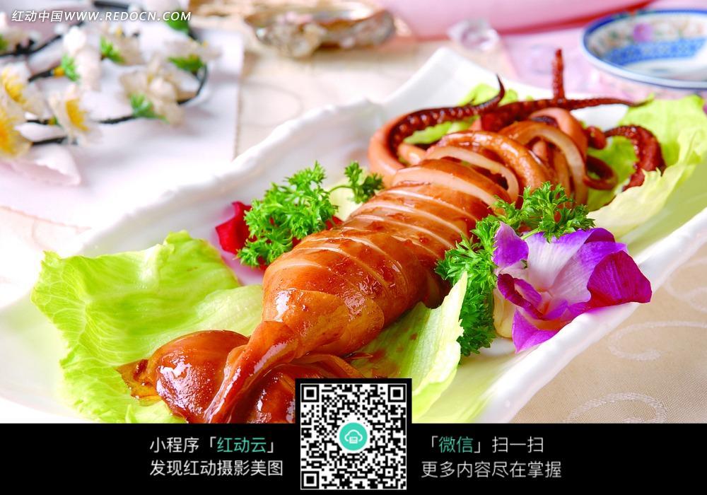 大烤鱿鱼图片_中华美食美食v鱿鱼图片蓝梦岛图片