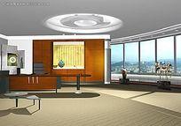 办公室设计MAX格式