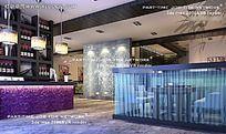 浪漫餐厅管3DMAX源文件图片