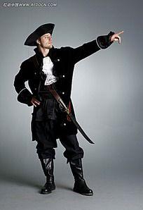 古代renti_右手拿剑腰间别枪的古代外国士兵jpg图片_人体摄影图片