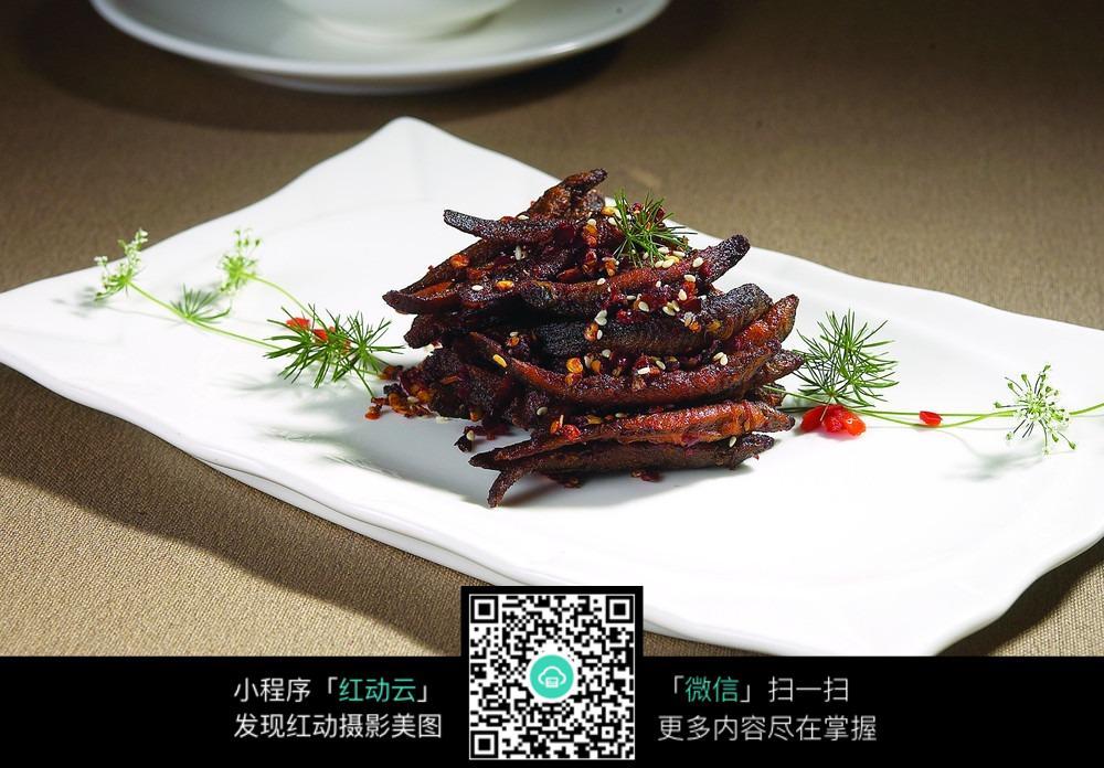 油炸小泥鳅图片_中华美食图片