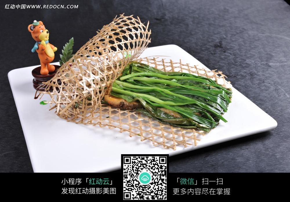 免费素材 图片素材 餐饮美食 中华美食 葱烤银鳕鱼