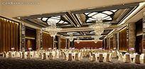 高档饭店餐厅装修效果图片