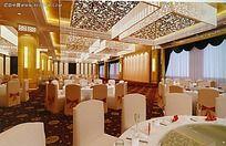 高端中式餐厅设计方案效果图片