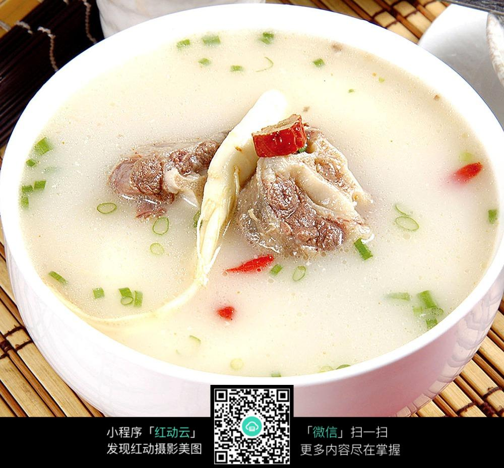 花杞牛尾汤电饭煲做高粱米图片