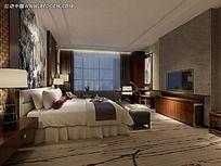 酒店房间模型图片