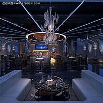 现代风格咖啡厅餐厅效果图片