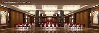 中式风格餐厅大厅效果图片