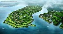 小区绿化全景规划图片