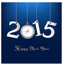 2015新年字体设计素材