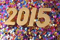 唯美2015立体字设计