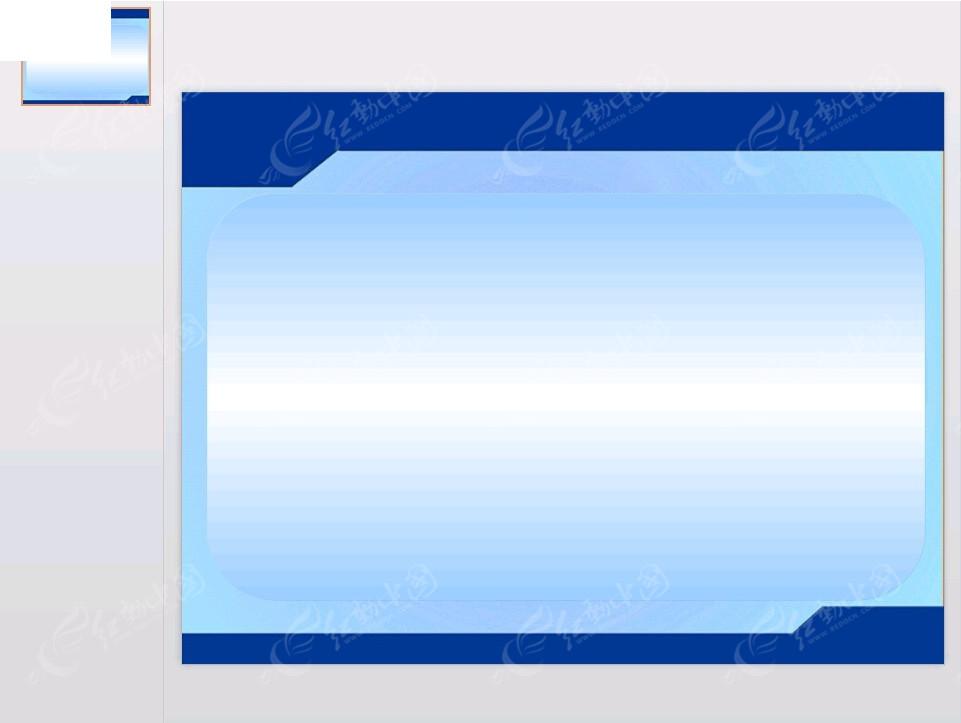 蓝色背景边框ppt素材免费下载_红动网图片
