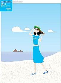 蓝头发的动漫人物女生_第7页_发型图片
