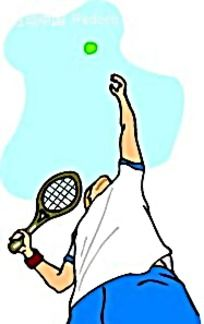 打排球 的人卡通 手绘 矢量图 卡通形象