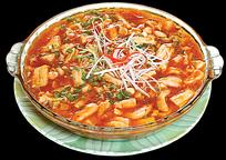 精美菜肴豆花牛