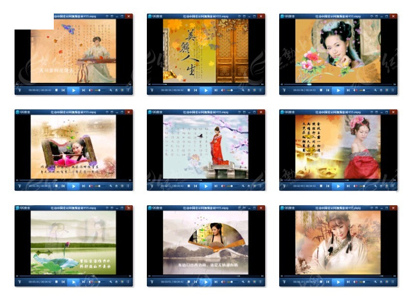 古典美女mv视频图片