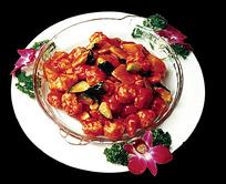 番茄菠菜品美食