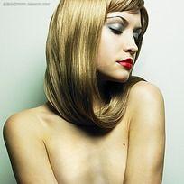 金发美女写真摄影