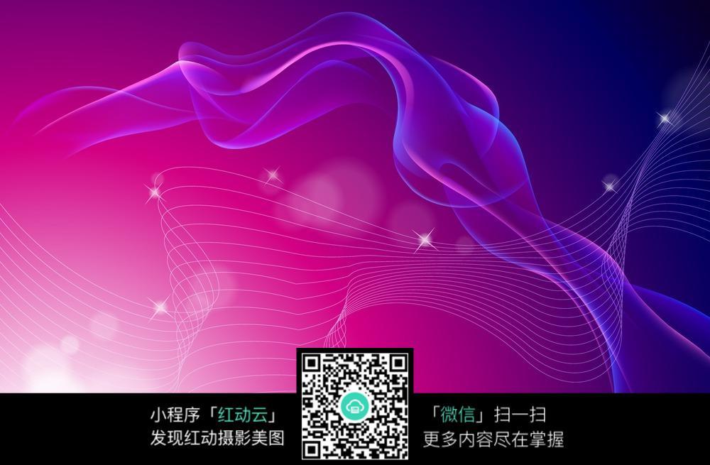 眩光紫色科技背景图片