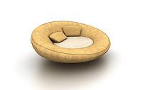 圆形休闲沙发