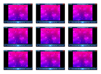 蓝紫色梦幻背景视频素材
