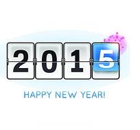 AI格式2015新年字体