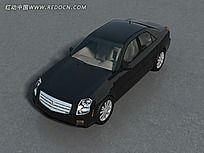 加长商务汽车模型