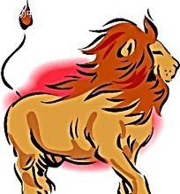 威猛的狮子韩国动物漫画