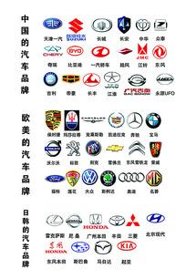 PSD格式汽车标志素材