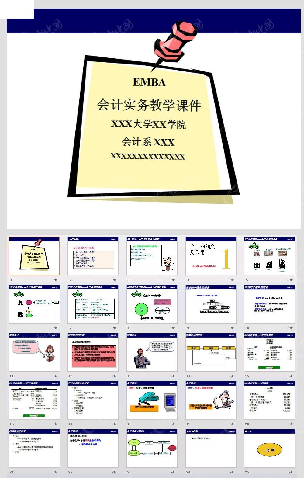 教学课件演示文稿模板ppt素材免费下载 编号3864554 红动网