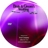 紫色调质感背景光盘盘面
