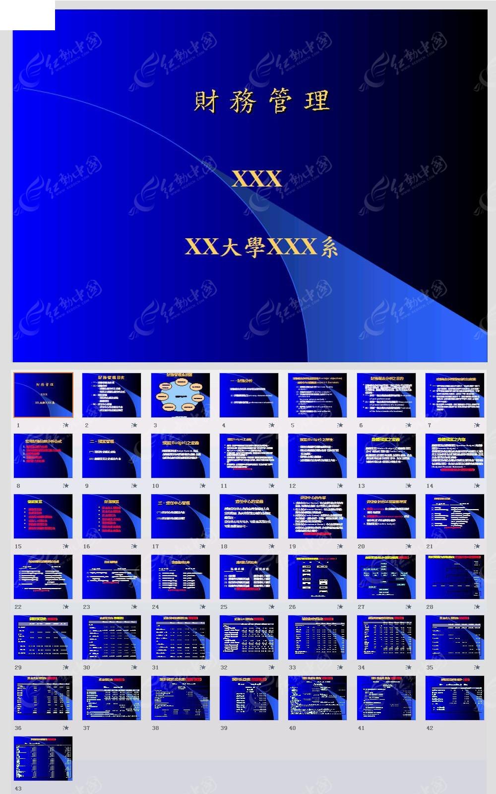 管理财务ppt模板免费下载_金融理财素材图片